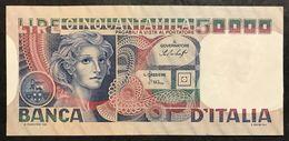 50000 LIRE Volto Di Donna 23 10 1978 Q.spl LOTTO 2236 - [ 2] 1946-… : Repubblica