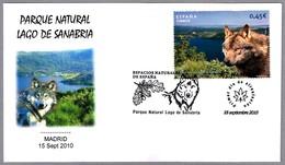 PARQUE NATURAL LAGO DE SANABRIA - NATURAL PARK LAKE SANABRIA. Lobo - Wolf. SPD/FDC Madrid  2010 - Protección Del Medio Ambiente Y Del Clima