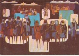IRAQ - Iraqi Artist Series - Painting By Amer Al-Ubaidi - Iraq