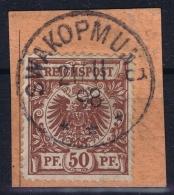 Deutsch-Südwestafrika Vorlaufer VS 50 SWAKOPMUND - Colony: German South West Africa