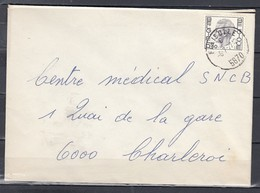 Brief Van Falisolle Naar Charleroi - 1970-1980 Elström