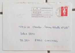 FRANCE Musique, Instruments De Musique, FLAMME ILLUSTREE CHATEAU SALINS  GRAND ORGUE 1996 - Musique