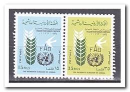 Jordanië 1963, Postfris MNH, Fight Against Hunger - Jordan