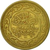 Monnaie, Tunisie, 100 Millim, 1997, Paris, B+, Laiton, KM:309 - Tunisia