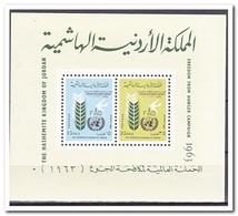 Jordanië 1963, Postfris MNH, Fight Against Hunger - Jordanië