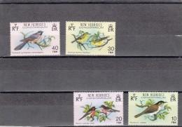 Nueva Hebrides Nº 579 Al 582 - Leyenda Inglesa