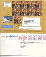 4026g: Lot Bedarfspost Kroatien/ Bosnien 5 Belege Nach Österreich - Kroatien