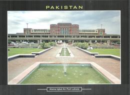 PAKISTAN POSTCARD , VIEW CARD ALLAMA IQBAL AIR PORT LAHORE - Pakistan