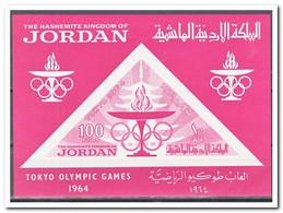 Jordanië 1964, Postfris MNH, Olympic Games Tokio - Jordan