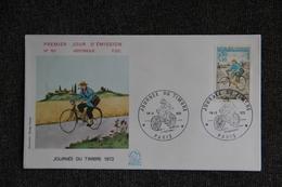 FDC,1972  , Journée Du Timbre 1972 - PARIS, N°791 - FDC