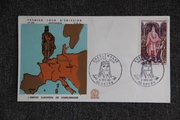 FDC,1966, L'Empire Européen De CHARLEMAGNE - NOYON, N°579 - 1960-1969