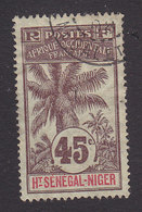 Upper Senegal And Niger, Scott #12, Used, Oil Palms, Issued 1906 - Upper Senegal And Nigeria (1904-1921)