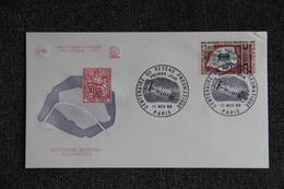 FDC,1966, Centenaire Du Réseau Pneumatique - PARIS, N°580 - 1960-1969