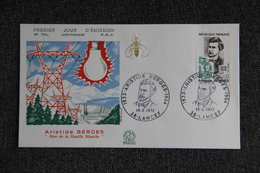 FDC,1972, Aristide BERGES - LANCEY, N°790 A - FDC