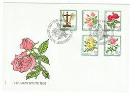 Suisse // Pro- Juventute / FDC / Lettre 1er Jour Série 1982 - Lettres & Documents