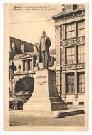 CPA : NAMUR - Statue De Léopold II Devant La Bourse - Gros Plan - Namur