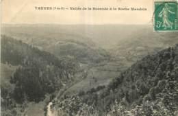 63 - TAUVES - VALLEE DE LA BURANDE ET LA ROCHE MANDRIN - France