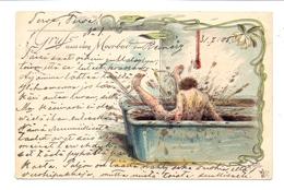 KÜNSTLER / ARTIST - ARTHUR THIELE, Gruß Aus Dem Moorbad, 1905 - Thiele, Arthur