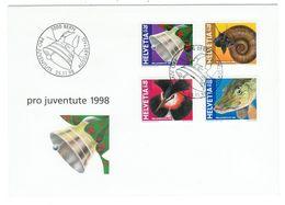 Suisse // Pro- Juventute / FDC / Lettre 1er Jour Série 1998 - Lettres & Documents