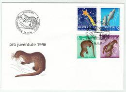 Suisse // Pro- Juventute / FDC / Lettre 1er Jour Série 1996 - Pro Juventute