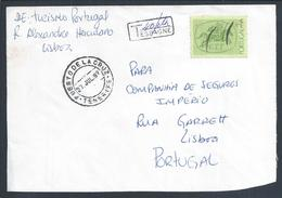 Fined Rare Card Spain.Letter Circulated Lisbon,Tenerife And Have Obliteration Fined Spanish 40 Ct.Unusual.2sc.P.La Cruz - Variétés Et Curiosités