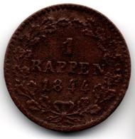 Switzerland 1 Rappen 1844 Canton Of Lucerne - Luzern # W16 - Suisse
