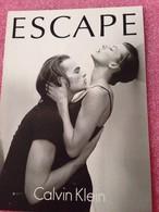 ESCAPE De CALVIN KLEIN - Perfume Cards