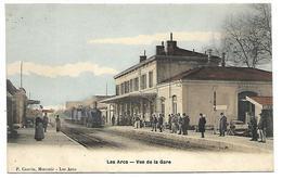 LES ARCS - Vue De La Gare - TRAIN - Les Arcs