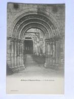 CP  (30) Gard - Abbaye D'Aigues Vives - Porte D'Entrée - Aigues-Vives