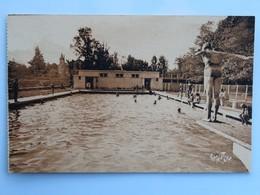 C.P.A. : 64 ORTHEZ : La Piscine, Plongeuse, Animé - Orthez
