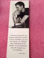CONTRADICTION  De CALVIN KLEIN  Marque Page - Perfume Cards