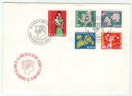 Suisse // Pro- Juventute / FDC / Lettre 1er Jour Série 1962 - Pro Juventute
