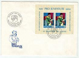 Suisse // Pro- Juventute / FDC / Lettre Bloc-feuillet 1er Jour Série 1962 - Pro Juventute