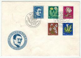 Suisse // Pro- Juventute / FDC / Lettre 1er Jour Série 1960 - Lettres & Documents