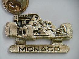 Pin's - Automobile F1 FORMULE 1 MONACO - F1