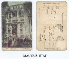 KONIN (Pologne) Autel De La SYNAGOGUE. Carte Postale En Mauvais état. - Pologne