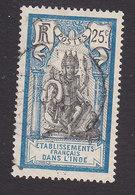 French India, Scott #36, Used, Brahma, Issued 1914 - India (1892-1954)