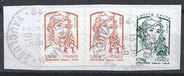 Adhésifs No 854.861.  0b - Adhesive Stamps