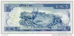 ETHIOPIA P. 47f 5 B 2015 UNC - Ethiopie
