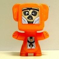 K354 / Kinder Joy Série Robots / Robot Orange  / Ref: FT039B - Montables
