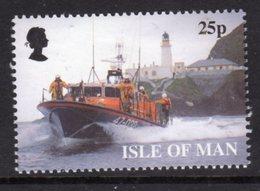 GB ISLE OF MAN IOM - 1999 RNLI ANNIVERSARY 25p STAMP FINE MNH ** SG 833 - Isle Of Man