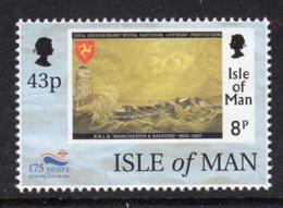 GB ISLE OF MAN IOM - 1999 RNLI ANNIVERSARY 43p STAMP FINE MNH ** SG 836 - Isle Of Man