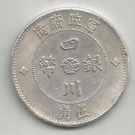 Cina, 1913, Szechuan, 50 Cash, Weight 10,90 Gr. - Cina