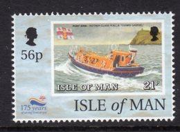 GB ISLE OF MAN IOM - 1999 RNLI ANNIVERSARY 56p STAMP FINE MNH ** SG 838 - Isle Of Man