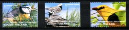 FINLANDE. N°1548-50 Oblitérés De 2001. Loriot/Mésange/Bergeronnette. - Songbirds & Tree Dwellers