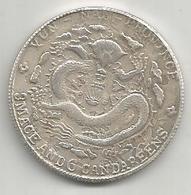 Cina, Impero, 1908, Yunnan, 50 Cash, Weight 11 Gr. - Cina