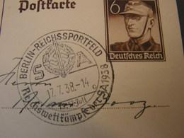 DR Bildkarte 1937  SST Reichssportfeld - Germania