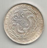 Cina, Impero, 1901/5, Kirin, 50 Cash, Weight 11,01 Gr. - Chine