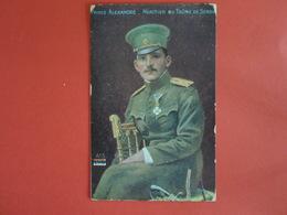 Cartes Prince Alexandre - Personnages