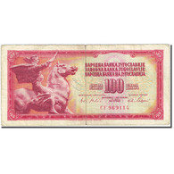 Billet, Yougoslavie, 100 Dinara, 1965, 1965-08-01, KM:80c, TB - Yugoslavia